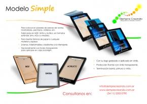 Simple + info